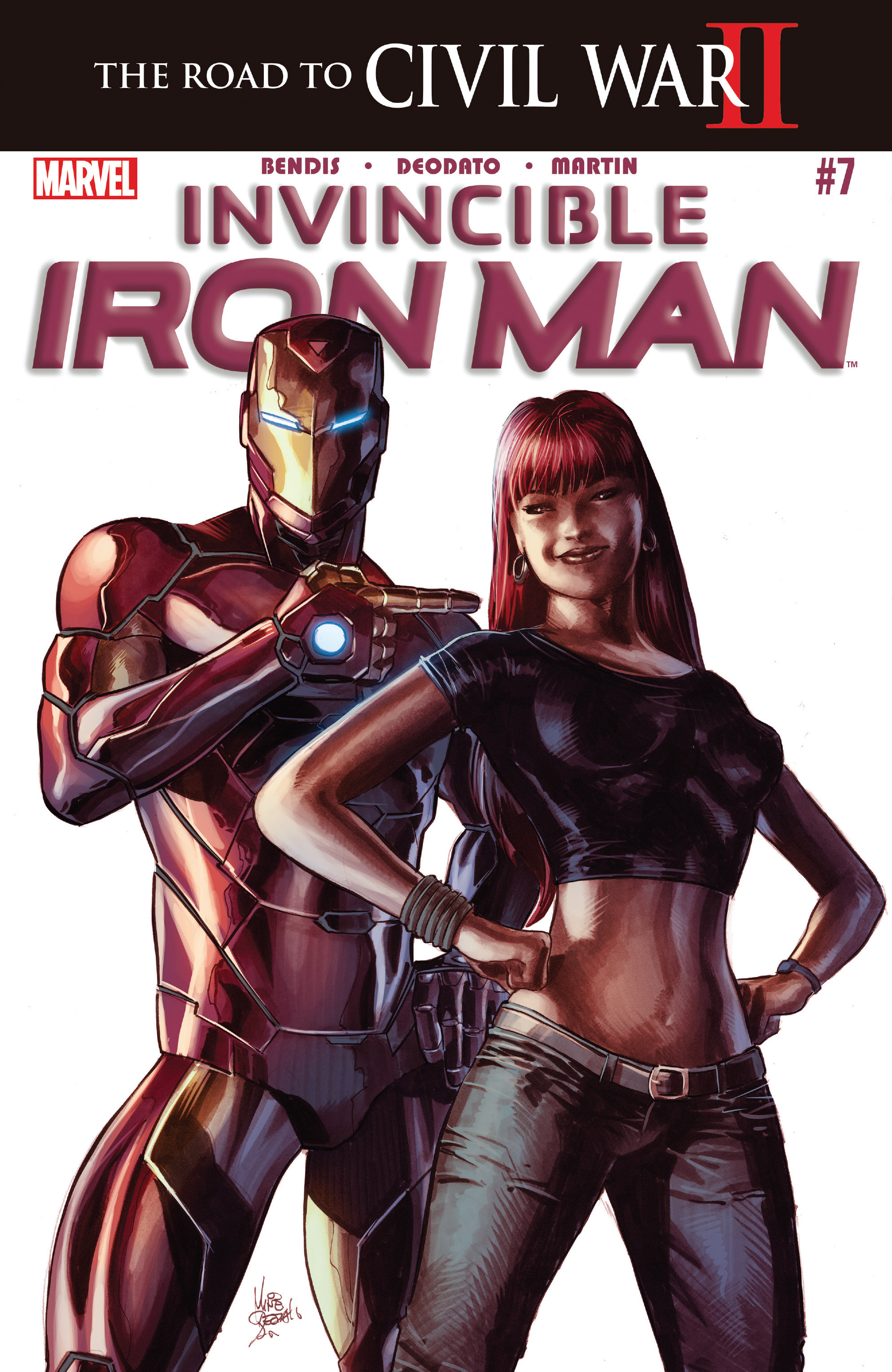 "Invincible Iron Man #7 ""Mary Jane/Spider-Man"" Centric Review"