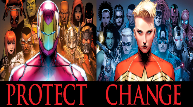 Civil War II, It's Time To Choose, Will You Change or Protect The Future