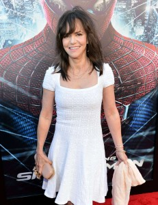 Sally Field - in a white dress at The Amazing Spider-Man Premiere-07