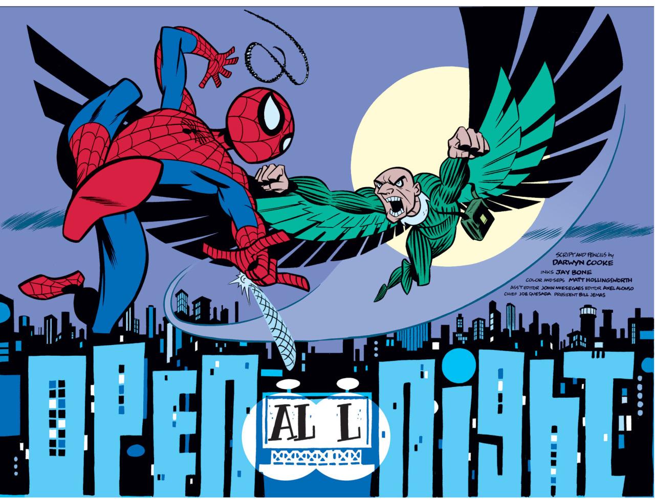 Tangled Webs: Darwyn Cooke's Spider-Man