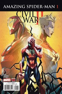 Civil War- Amazing Spider-Man #1