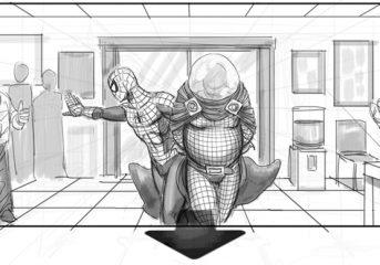 Spider-Man 4 Storyboards