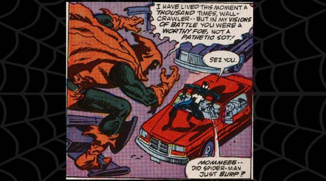 Cobwebs #23: Drunk Spidey