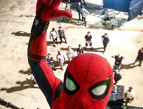 Spidey Selfie