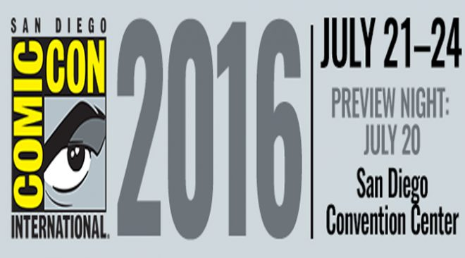 Panels Of SDCC 2016 (July 21st-24th) (LAST DAY)