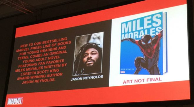 SDCC: Miles Morales Spider-Man Young Adult Novel Announced