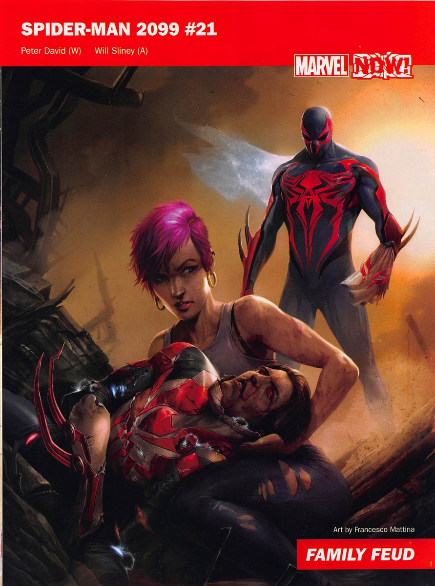 Image Of The Reported Cover For Spider Man 2099 21