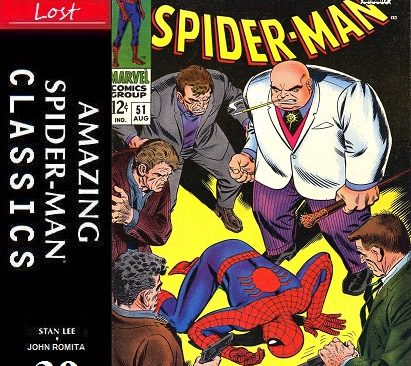 "Amazing Spider-Man Classics ""Lost"" Episode 39"