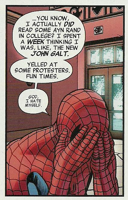 Ayn Rand Spider-Man