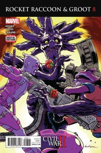 Rocket Raccoon and Groot #8