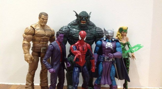 "Marvel Legends SDCC 2016 ""The Raft"" Box Set Review"