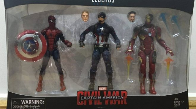 Marvel Legends Civil War 3 Pack Review