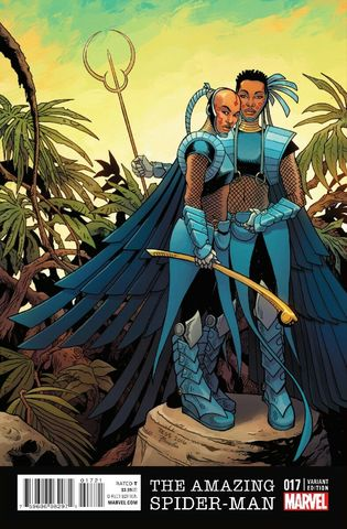 Amazing_Spider-Man_Vol_4_17_Black_Panther_Variant