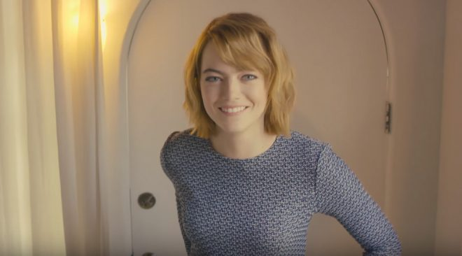 73 Questions With Emma Stone, 1 Spider-Man Question