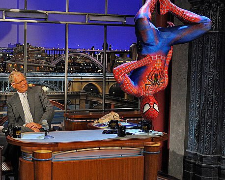 David Letterman Turned Down Cameo In Amazing Spider-Man Movie
