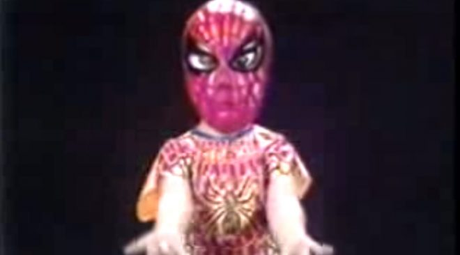 Vintage Spider-Man Halloween Costume Ads