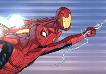 Spider-Man & Iron Man In Training Day Videos