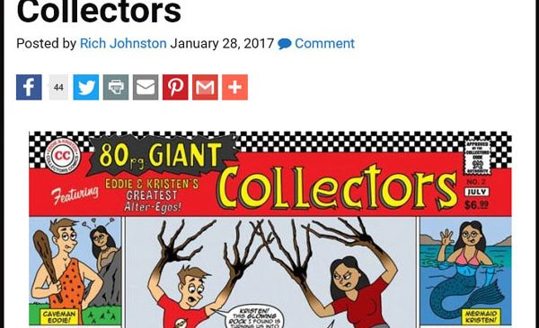 Collectors Featured on Bleeding Cool