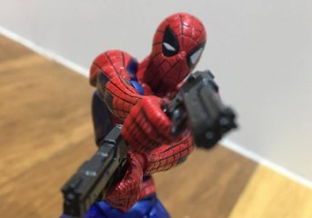 Amazing Yamaguchi Revoltech No.002 Spider-man Review