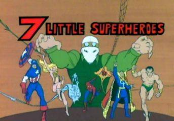 Cobwebs #36: 7 Little Superheroes