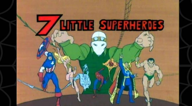 Cobwebs #36: 7 Little Superheroes