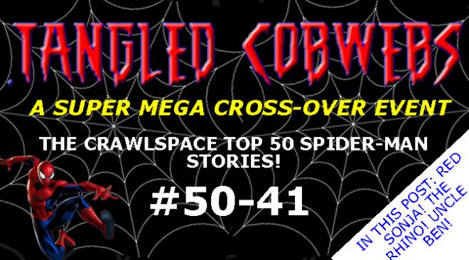 Cobwebs #37: Top 50 Countdown #50 - 41 - Tangled Cobwebs Mega Event Starts Here!