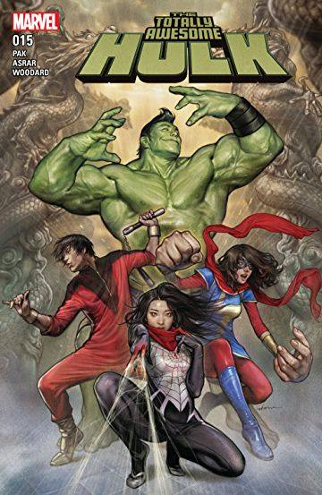 Totally Awesome Hulk #15-18 Silk Centric Review (Spoilers