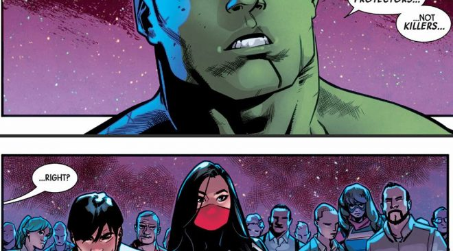 Totally Awesome Hulk #15-18 Silk Centric Review (Spoilers)