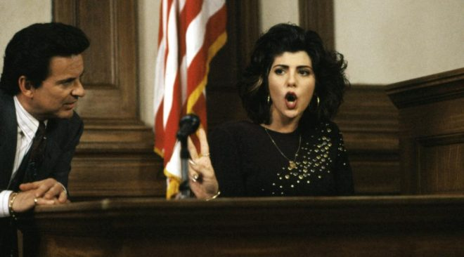 Aunt May Sings With My Cousin Vinny