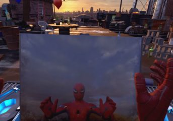 PS4 Virtual Reality Spider-Man Game