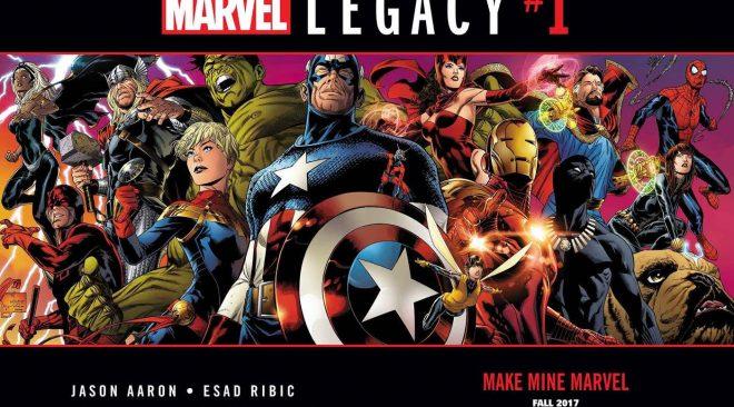 Marvel Legacy #1 Description