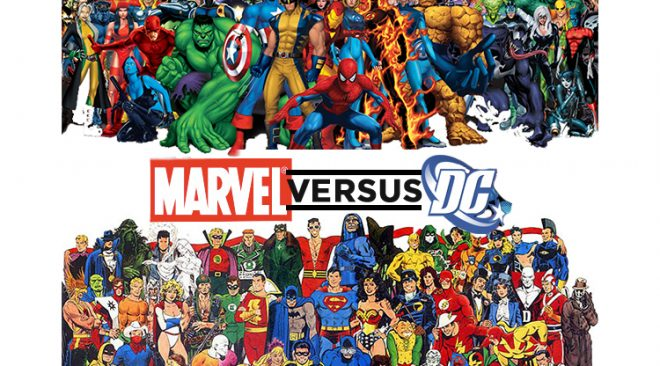 DC Heroes Versus Marvel Heroes: Who Holds The Edge?