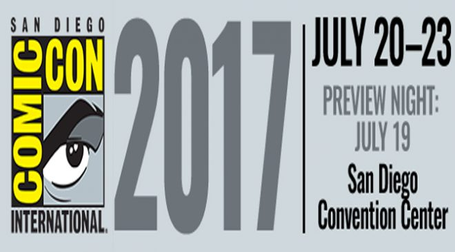 Panels Of SDCC 2017 (July 20th-23rd)