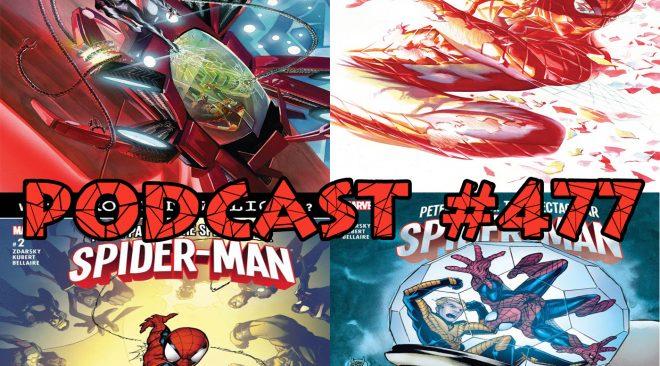 Podcast # 477-ASM (Vol 4) # 30, 31 Spec (Vol 3) #2, 3 Reviews