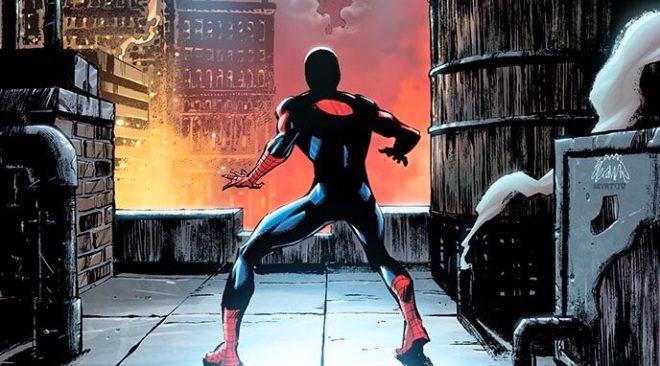 the amazing spider man 2 venom swinging