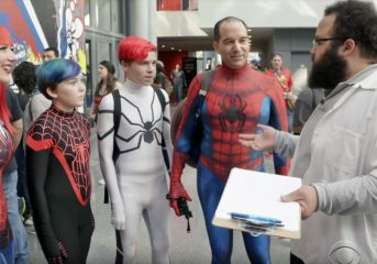 Spider-Man Spinoff Film: The Street Vendor