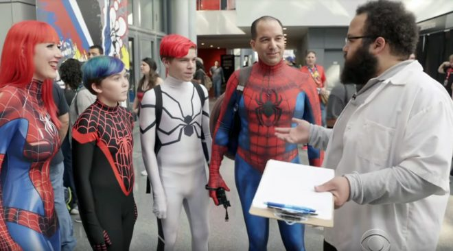 Spider-Man Spinoff Film: The Street Vendor