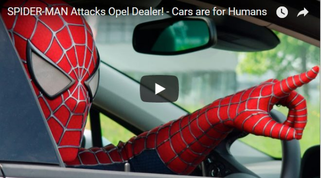 Youtube Spidey Wins New Car With Views
