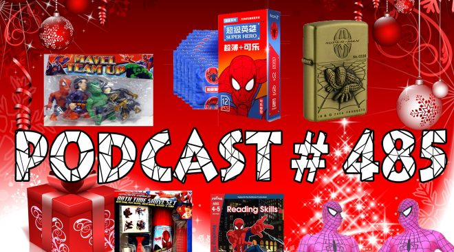Podcast # 485 Spider-Gift Exchange 2017