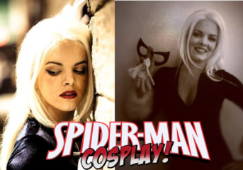 Spider-Man Cosplay #1!  Featuring The Black Cat (Heather Harris)!