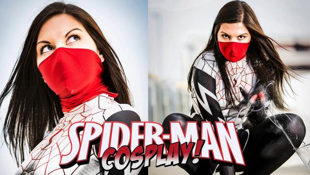 Spider-Man Cosplay #2!  Featuring Silk (Jenny Prado)!