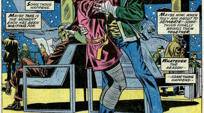 Panel of the Day #11 (Mary Jane Monday Presents: The Kiss!)
