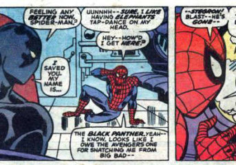 Panel(s) of the Day #8 (Special Guest Star: Black Panther!)