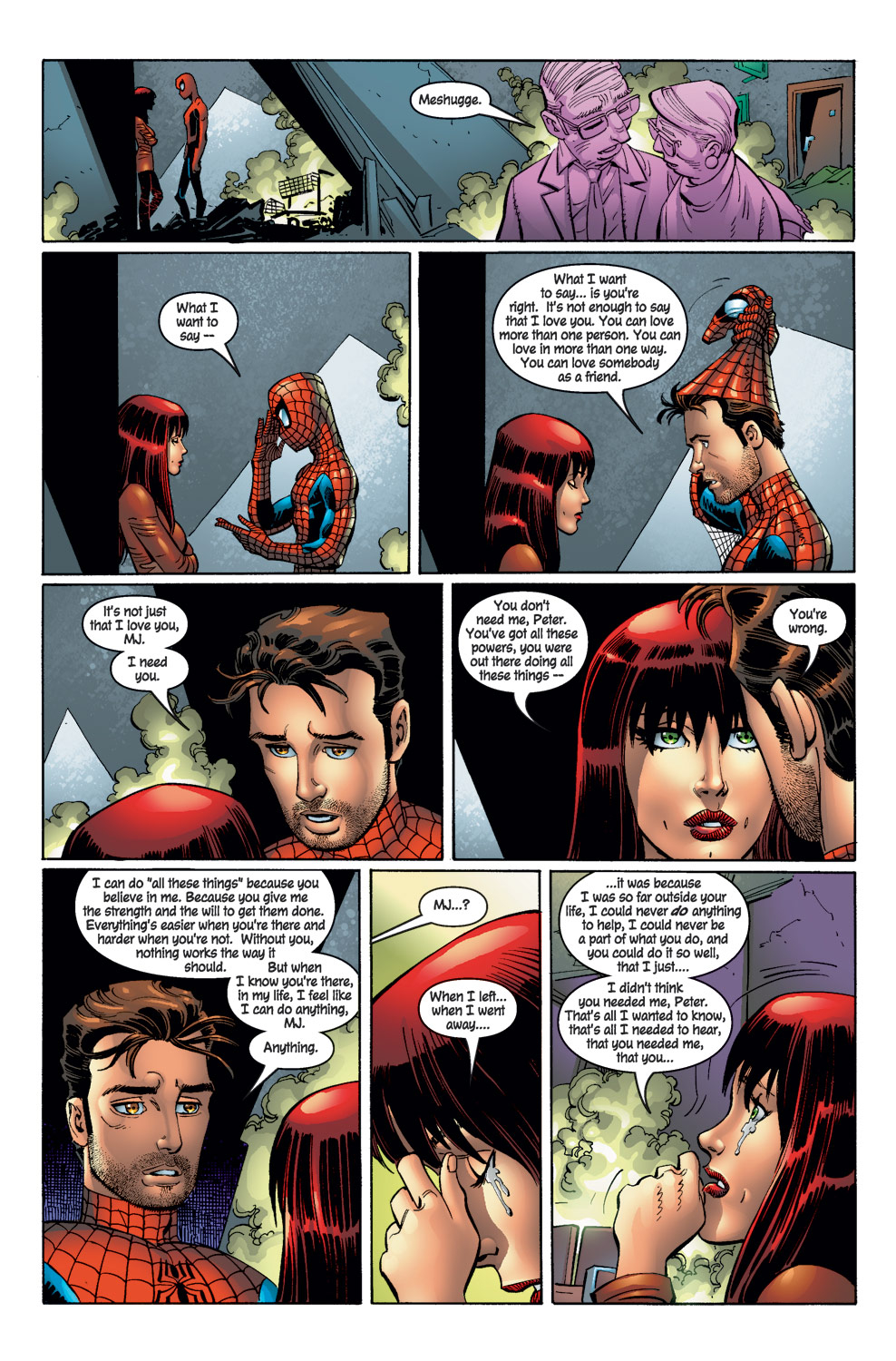 """Web of Love: """"Together Again"""" – Spider Man Crawlspace"""
