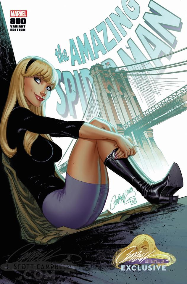 Gwen Stacy Mary Jane Black Cat