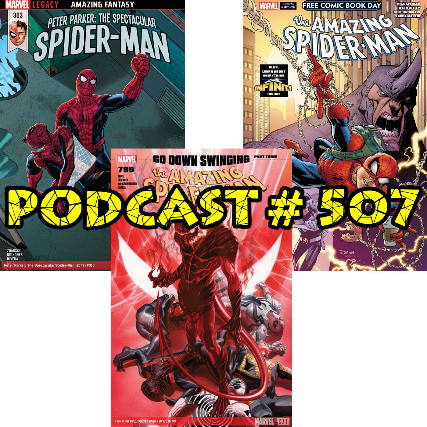 Podcast #507-ASM#799, Spec #303, FCBD Reviews