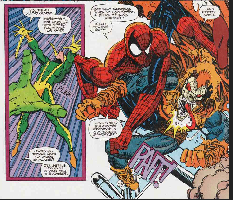 Tangled Webs: Peter David VS Erik Larsen – Spider Man Crawlspace