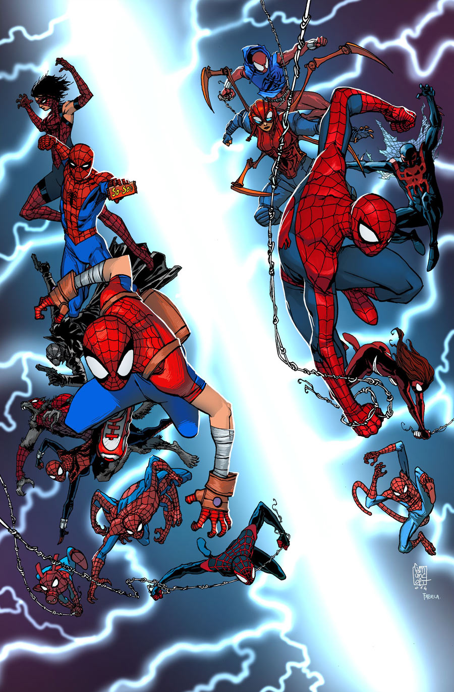 Sdcc 2014 Spider Verse Panel Annoucements Spider Man Crawlspace