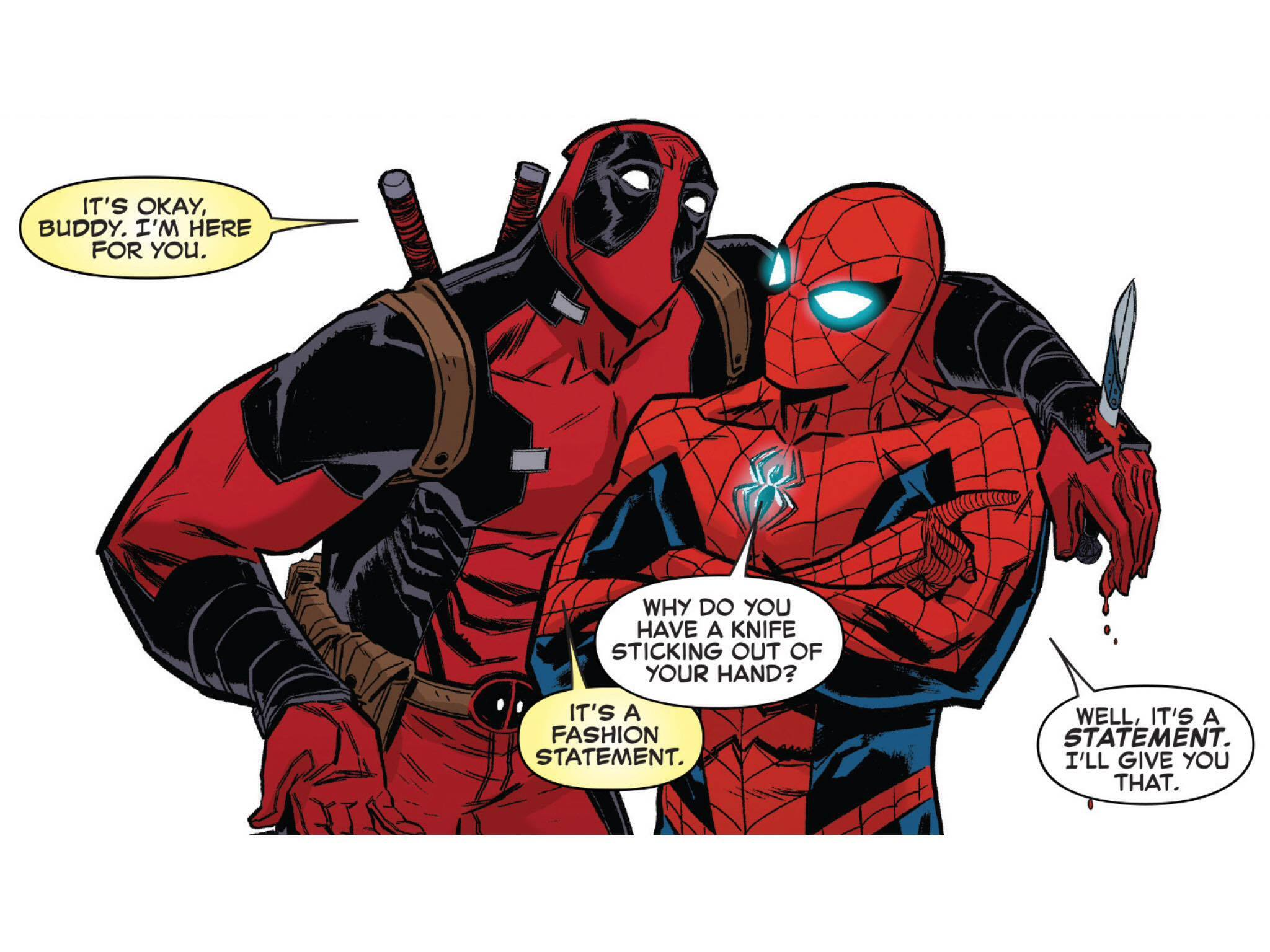 Spider Man Deadpool Monsters Unleashed 1 Crawlspace