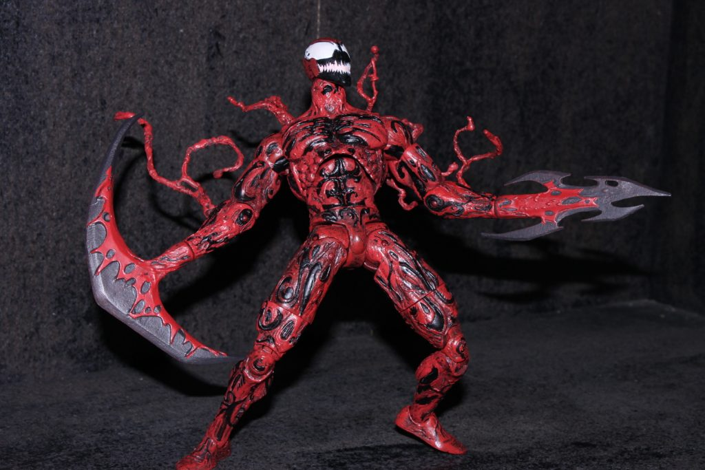 Marvel Select Carnage Figure review – Spider Man CrawlspaceUltimate Carnage Marvel Select